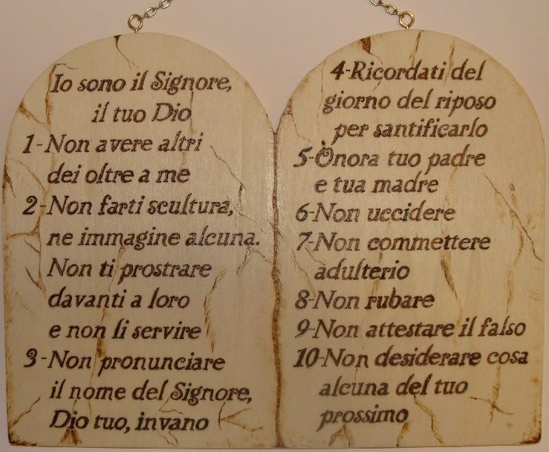 i 10 comandamenti spaccanapoli bologna - photo#6